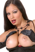 Aria Giovanni - Sexy witch Aria Giovanni shows her massive titties