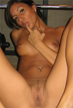 Raven Riley - Raven Riley showing off her beautiful nude body spreading her legs