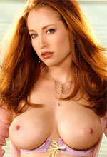 Megan Elizabeth - Awesome Playmate Megan Elizabeth With Long Redhead And The Best Set Of Boobs