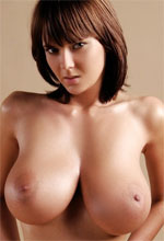 Mc-Nudes Gabrielle - Brunette babe with huge tits