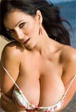 Denise Milani - Denise has some lovely all natural tits and your going to love her hour glass body