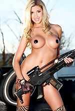 Heather Rae - Heather Rae is looking pretty badass in this Action Girls gallery.